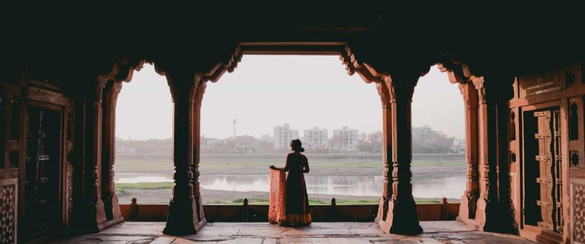Woman standing at Outlook, feature image to Mavens 101 5 Essential Mindsets